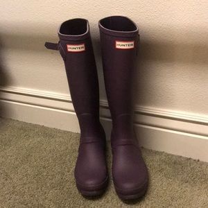 Hunter boots!